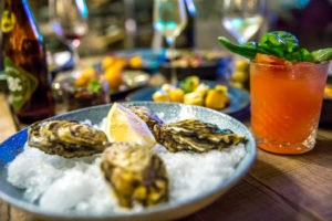 Carnelian Tapas and Cocktail Bar - Fresh oysters