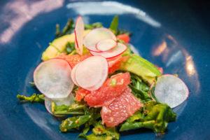 Carnelian Tapas and Cocktail Bar - Grapefruit avocado salad